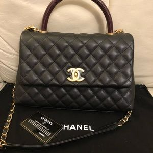 df9c75c31bd8 CHANEL Bags | Coco Handle With Lazard Handle | Poshmark